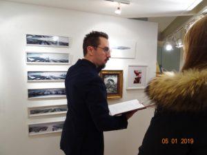 John Maibohm Galleria Arttime Udine, Magische Athmosphären, Ausstellungseröffnung_02